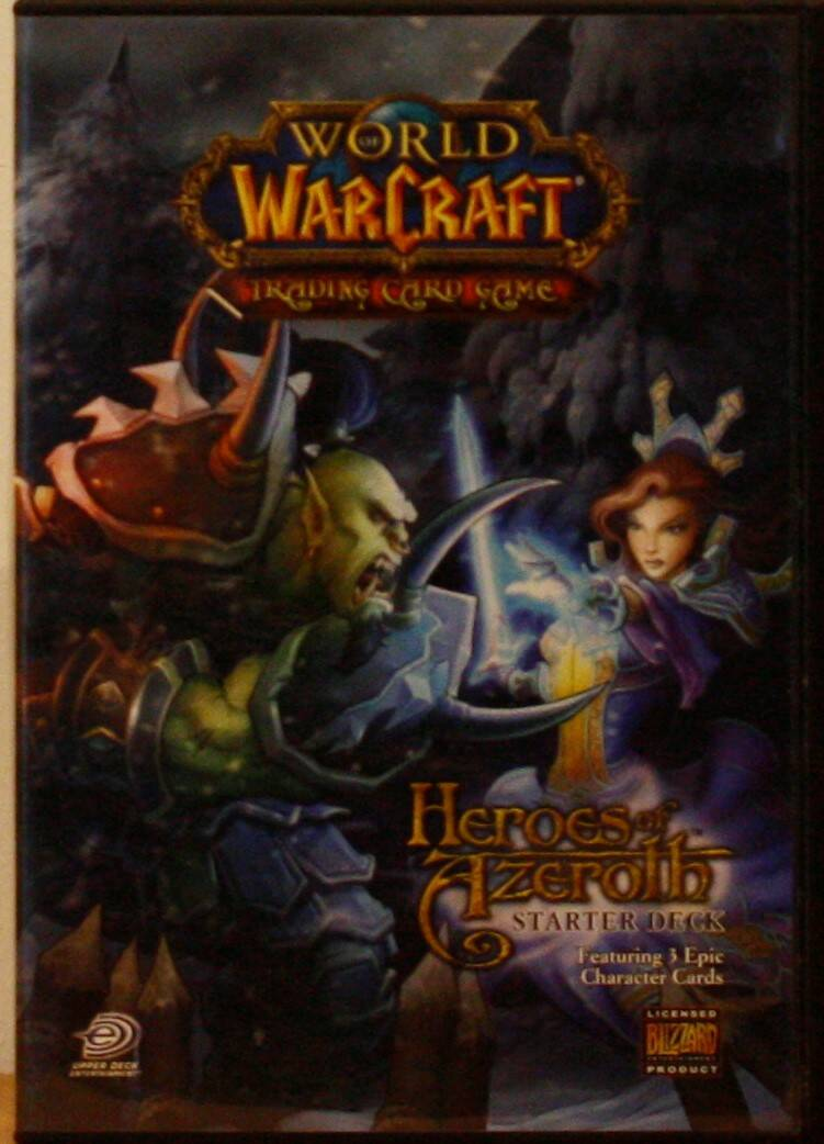 Upper deck World of warcraft trading card game heroes of azerolh