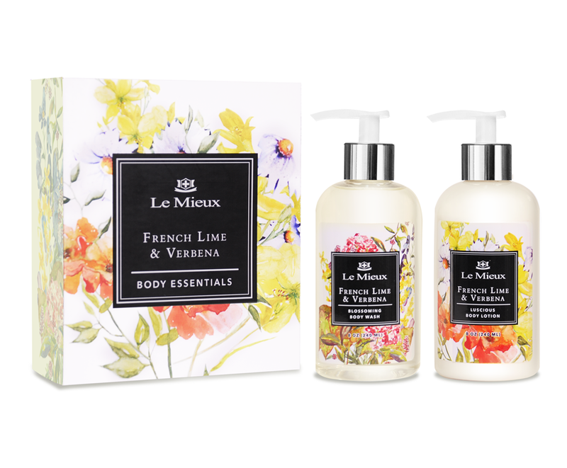 French Lime en Verbena Body Essentials Set