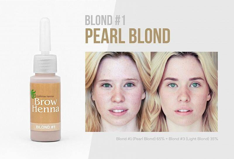 No 1 Pearl Blond, warme tint
