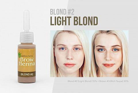 No 2 Light Blond, koele tint