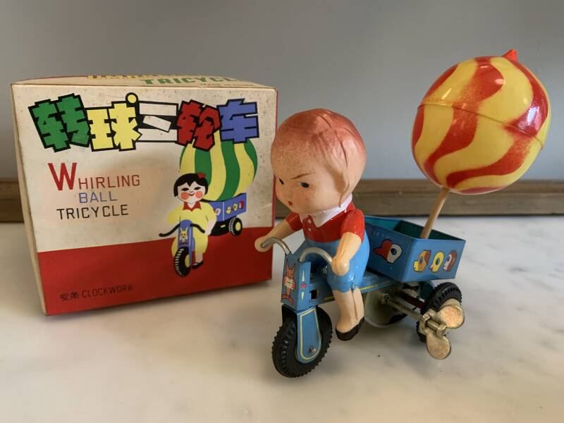 China MS 080 Whirling ball tricycle