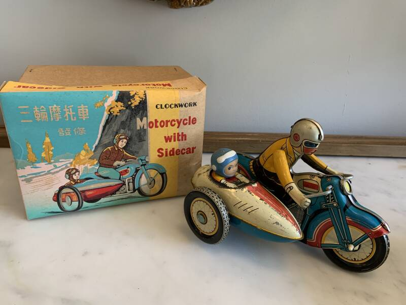 China MS 709 Motorcycle with sidecar