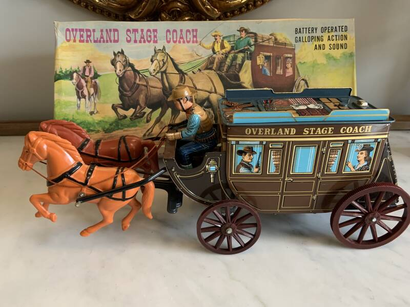 MT Overland Stage Coach