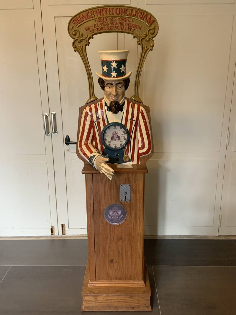 Shake hands with Uncle Sam - Personality Tester