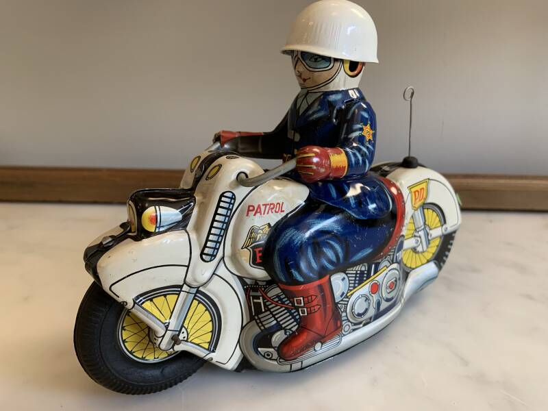 Police Department Motorcycle
