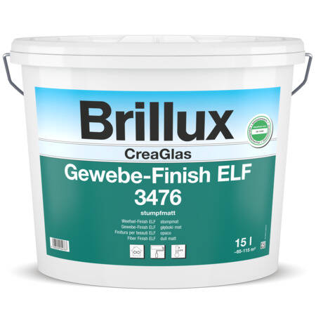 Crea Glasweefsel Finish ELF 3476, 15 Liter Wit