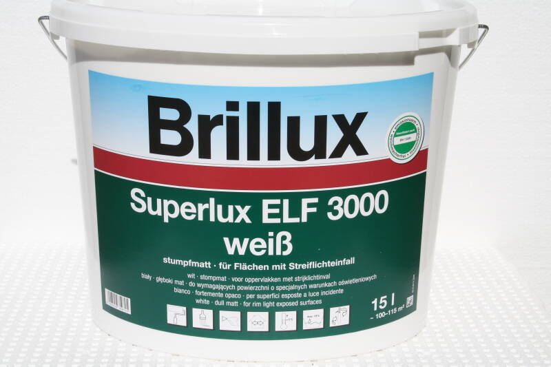 Superlux ELF 3000, Plafond en wandafwerking.