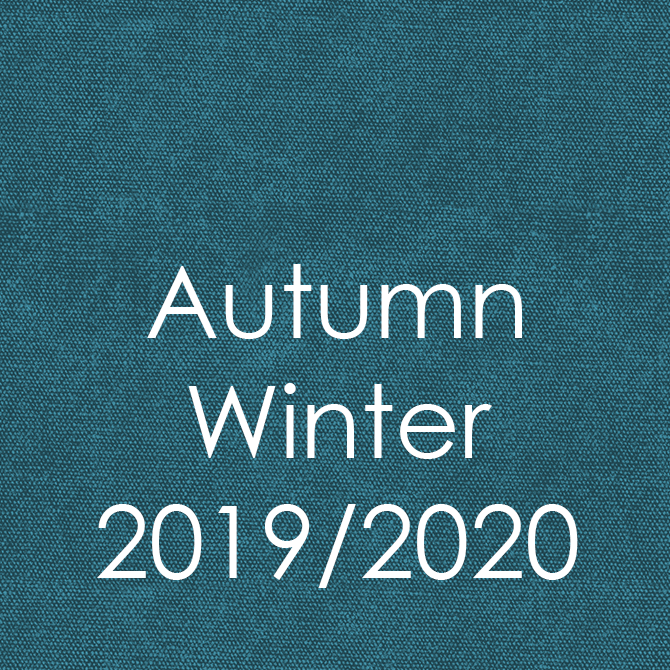 Autumn/Winter 2019/20 Trend Color & Design Inspiration