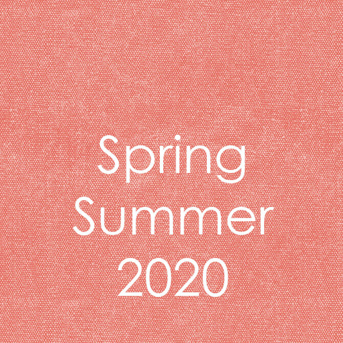 Spring/Summer 2020 Trend Colors & Design Inspiration