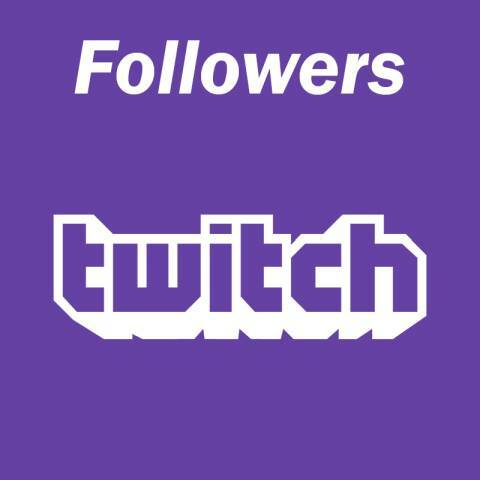 250 Twitch Follower