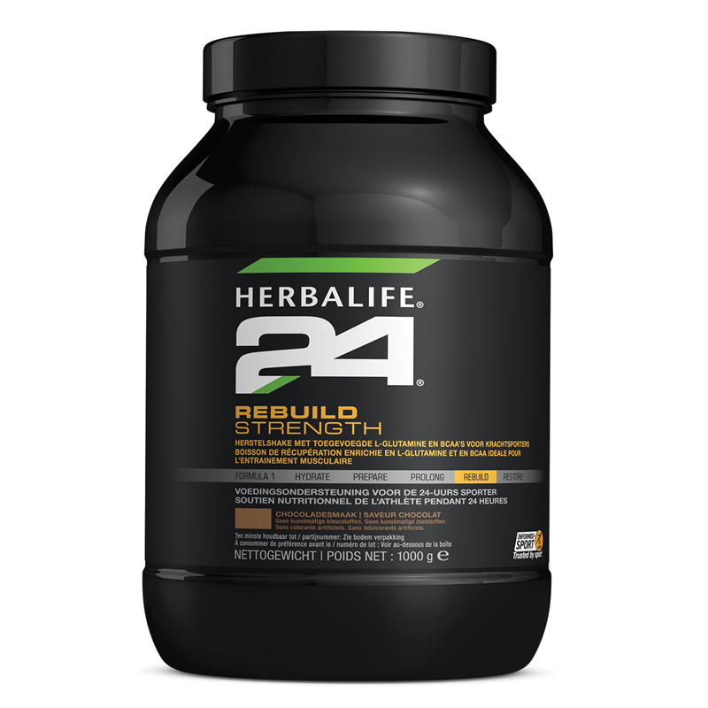 H24 Rebuild strength chocolade 1000 g