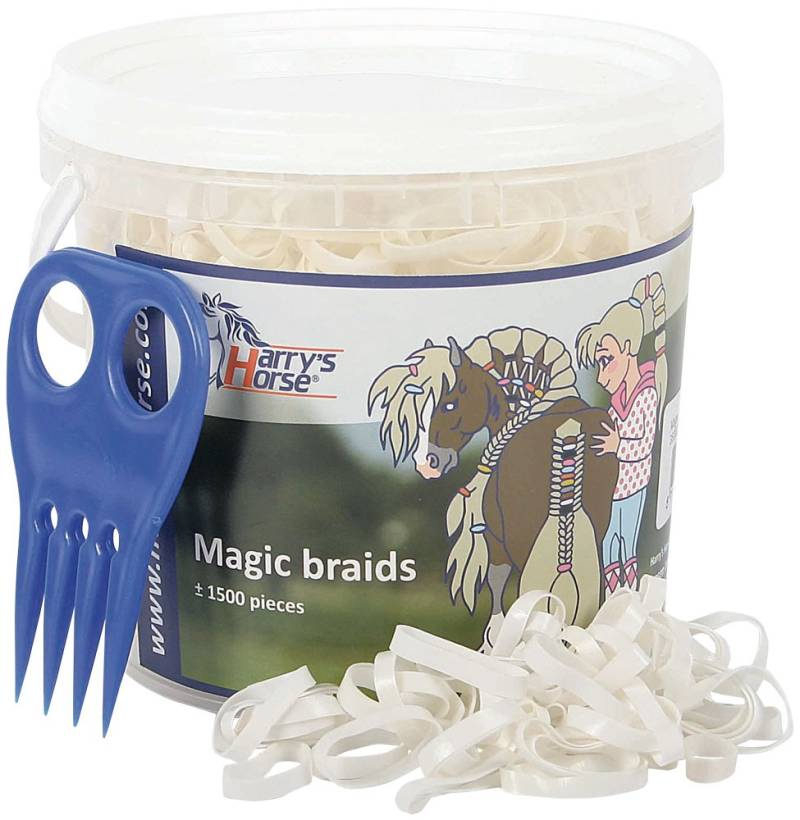 Magic braids pot wit
