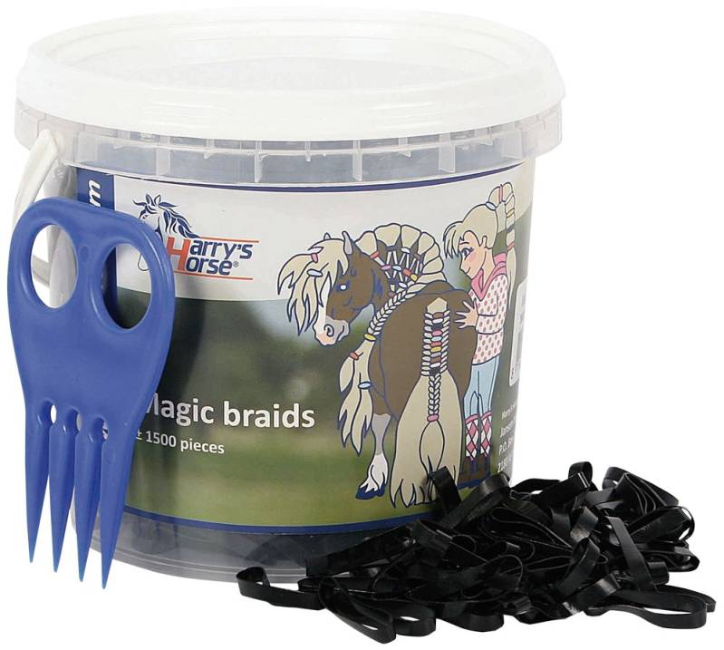 Magic braids pot  zwart