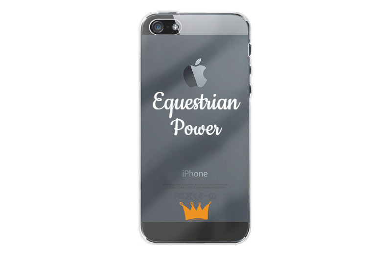 'Equestrian Power' Iphone 5 / 5S / SE