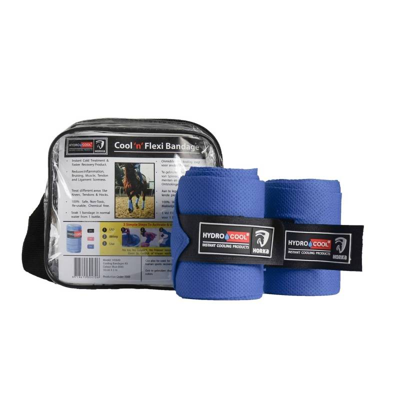 Cooling bandages kit - blauw