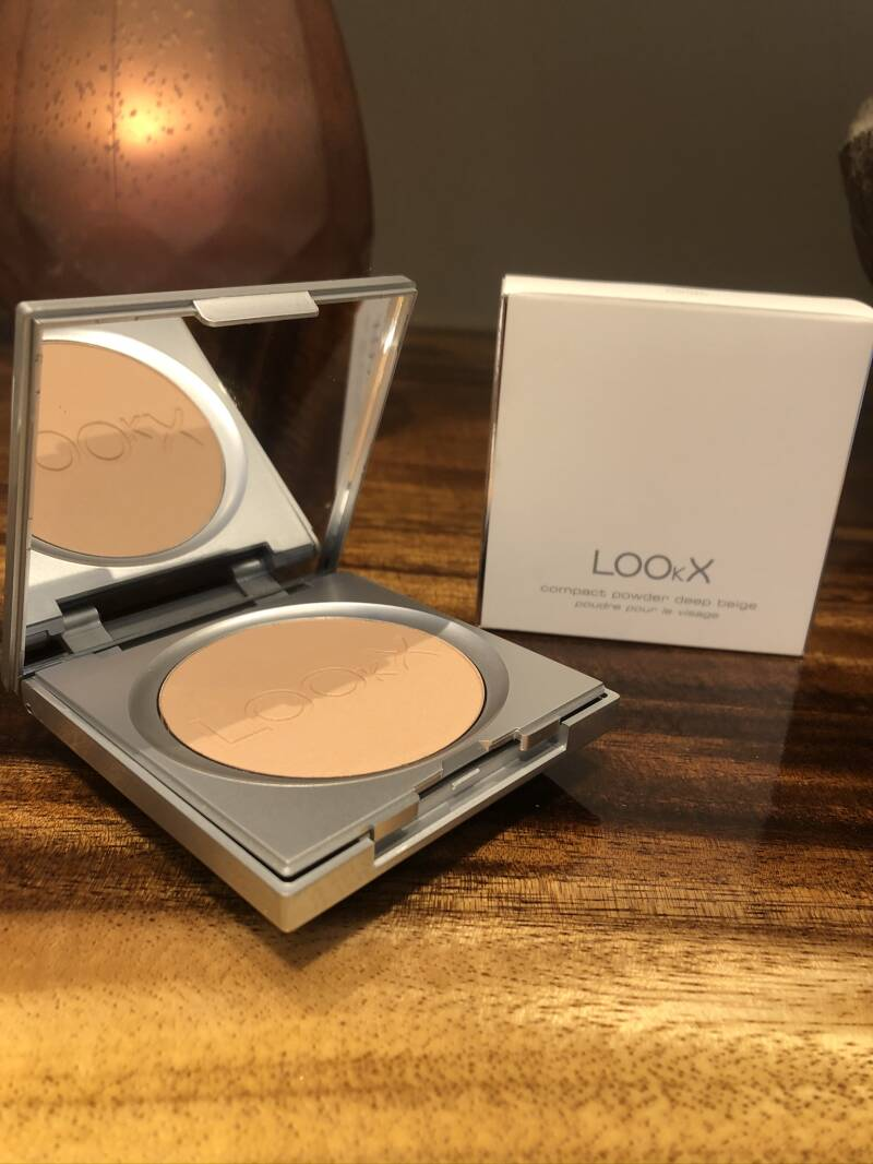 Lookx Compact Powder : Deep Beige