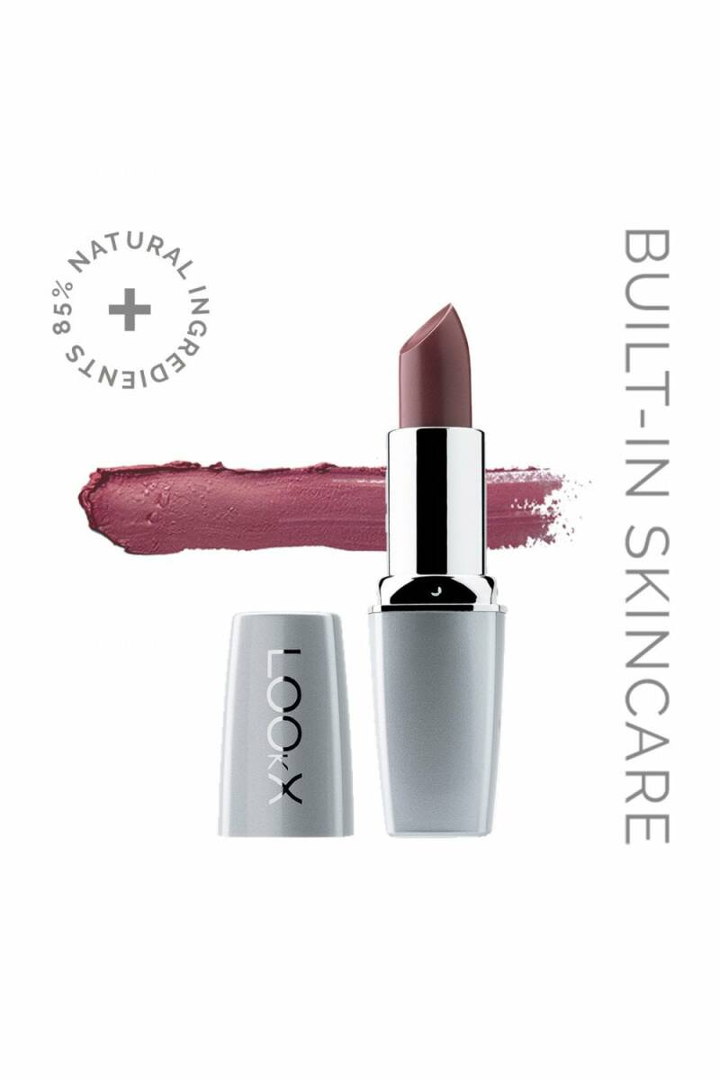 Lookx Lipstick : 85 Iced Brown Pearl