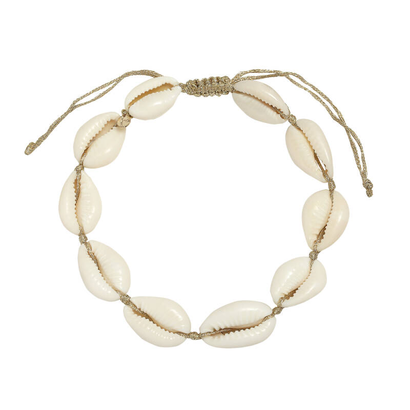 Ankle bracelet shell beach