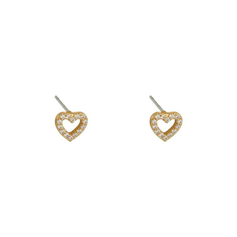 Earrings mini heart