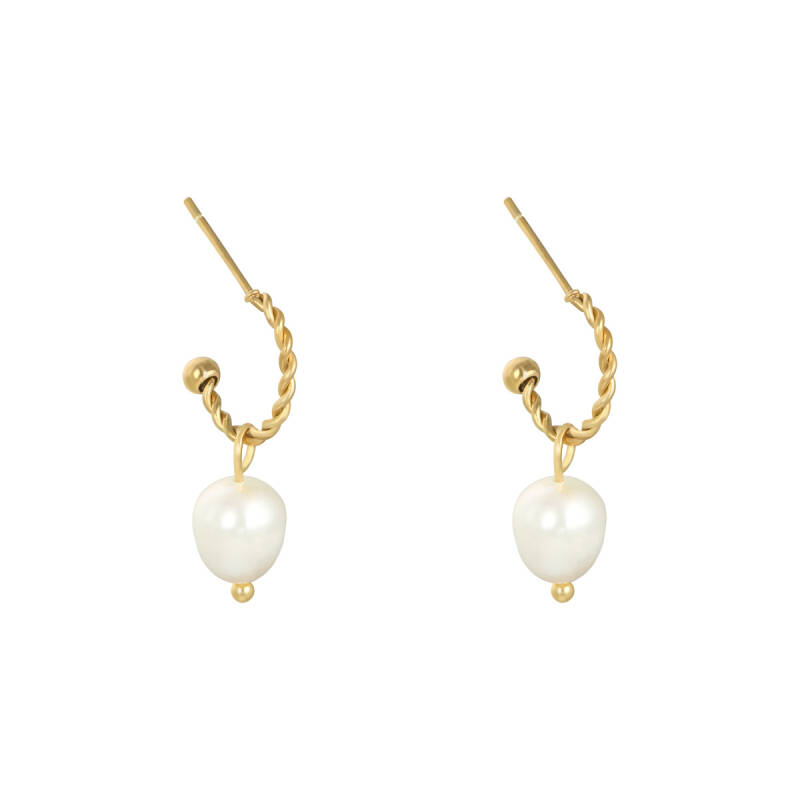 Earrings Pearl party
