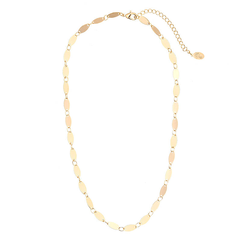 Necklace sweet ovals
