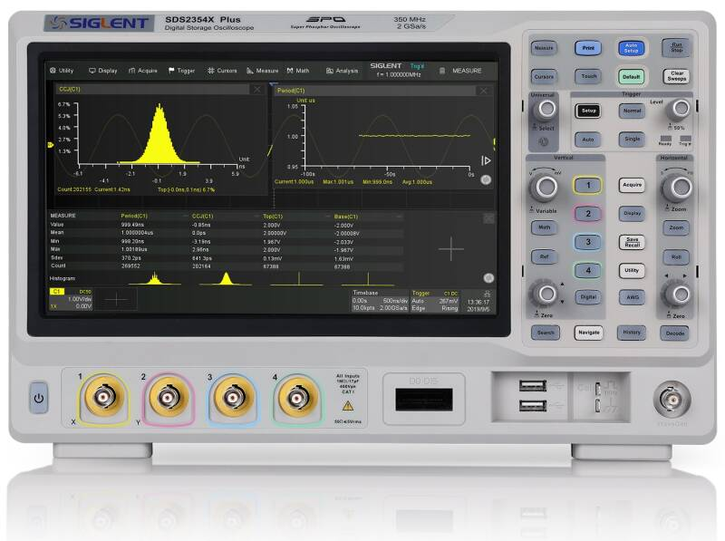 SDS2000X PLUS Bandwidth upgrade, 100 to 200 MHz, 4 channel models