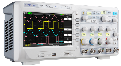 Siglent SDS1204CFL 200MHz Four channel oscilloscope