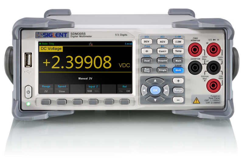 Siglent SDM3055-SC 5 1/2 Digits Dual-Display Digital Multimeter