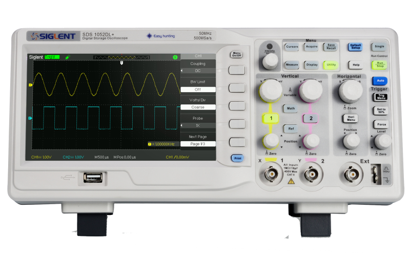 Siglent SDS1052DL+ 50MHz Dual channel oscilloscope