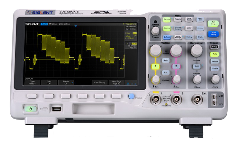 Siglent SDS1202X 200MHz Dual channel oscilloscope
