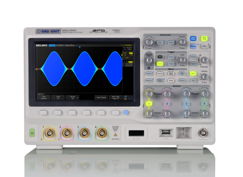 Siglent SDS2304X 300MHz Four channel oscilloscope