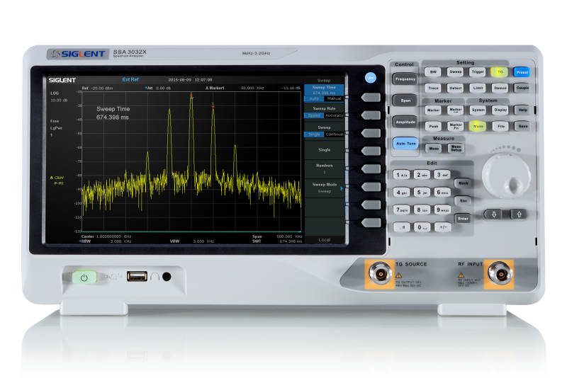 Siglent SSA3021X 2.1GHz Spectrum analyzer + FREE TG LICENSE