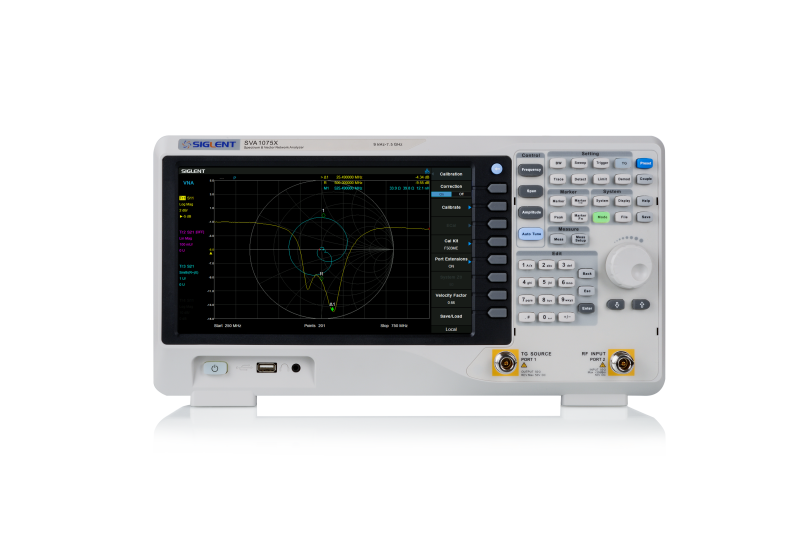 Siglent SVA1075X  7.5GHz spectrum & vector network analyzer