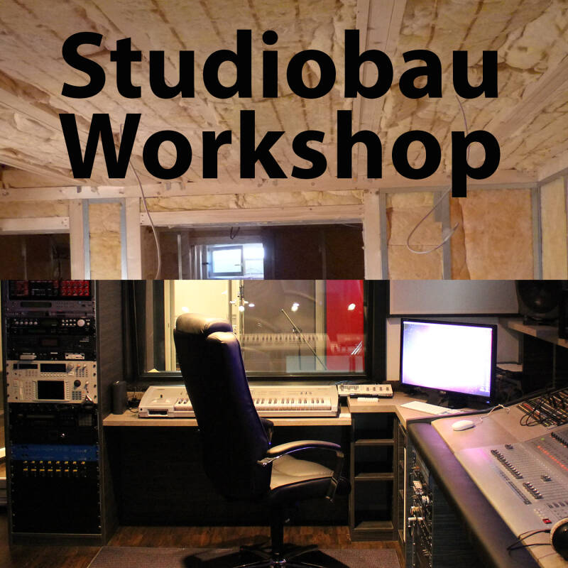Studiobau Workshop am 26.02.2021 (Einzelunterricht)