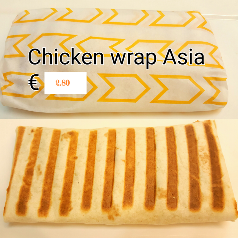 Chicken Wrap Asia