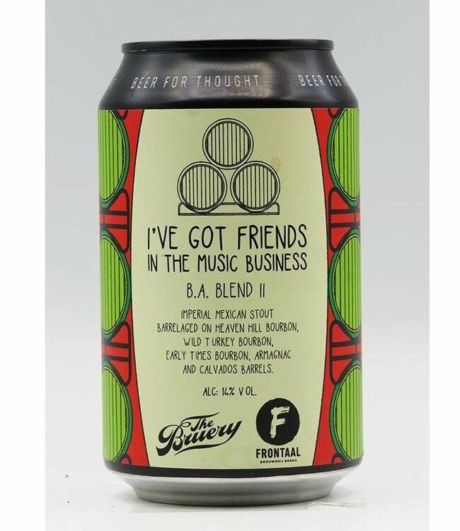 Frontaal, I´ve Got Friends in the Music Business BA Blend 2