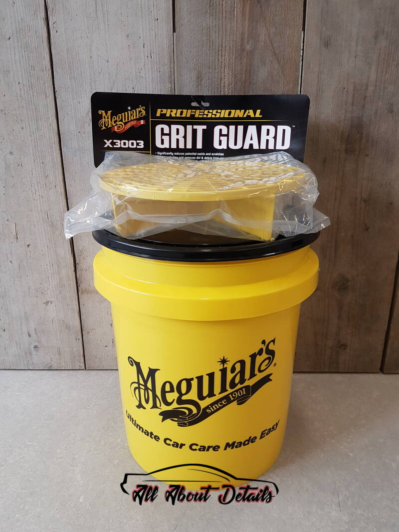 Grit Guard® & Meguiar's bucket&lid