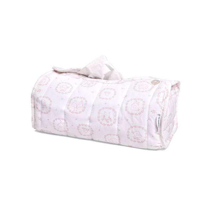 Little Forest Pink Tissue box hoes
