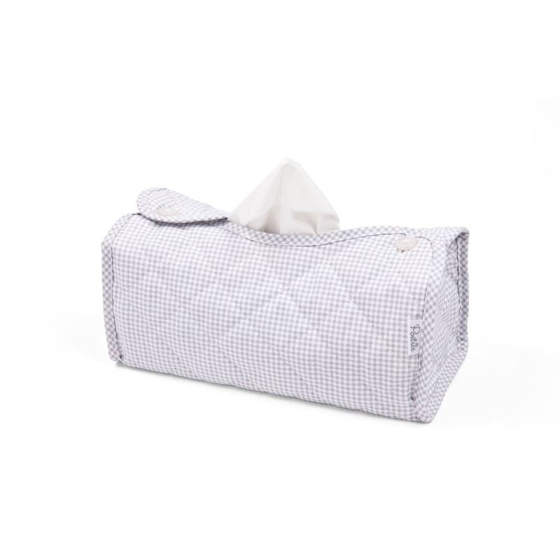 Oxford Grey Tissue box hoes