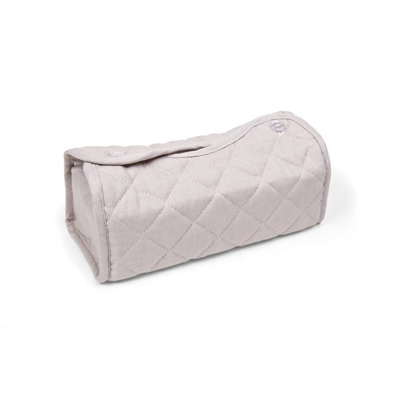 Oxford Taupe Tissue box hoes
