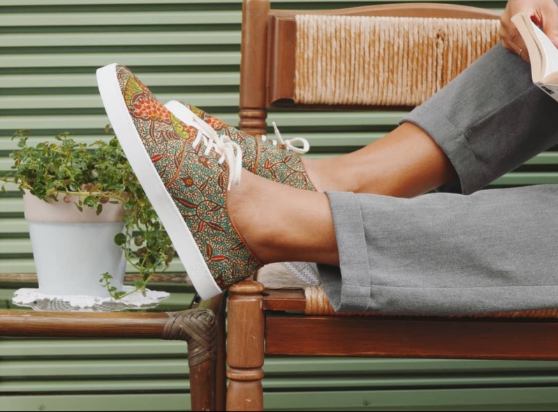 Tingasoul | Sneakers with African Prints Luanda