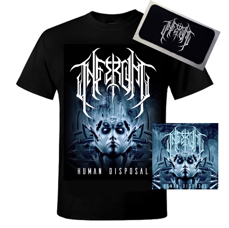 CD Human Disposal + Normal/Girly Tshirt+patch