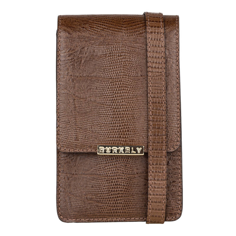 Burkely Winter Specials Phone Bag Armadillo Brown