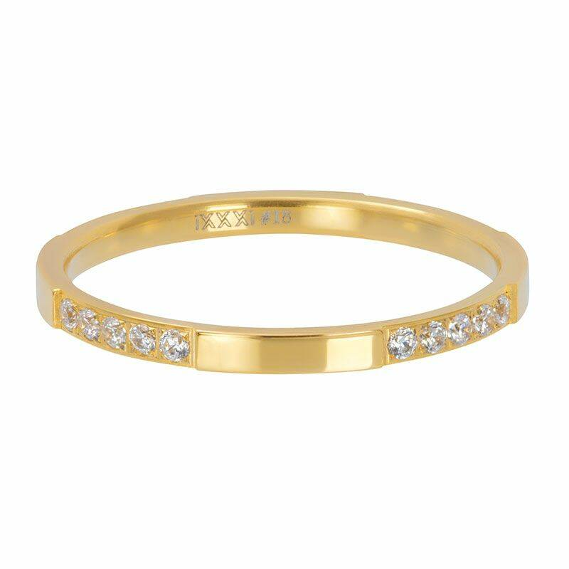 iXXXi Jewelry vulring 2mm Chic Goud