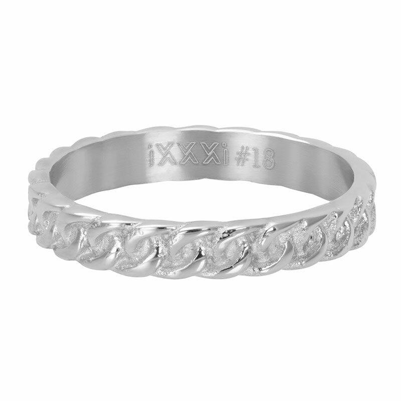 iXXXi Jewelry vulring 4mm Curb Chain Zilver