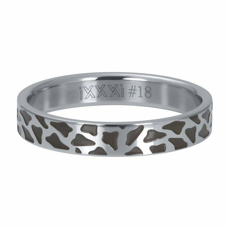 iXXXi Jewelry vulring 4mm Panther Zilver