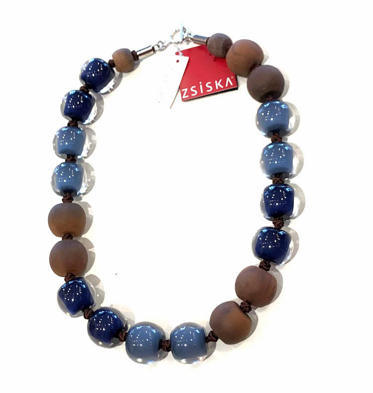 ZSISKA Colourful Beads ketting met T-sluiting
