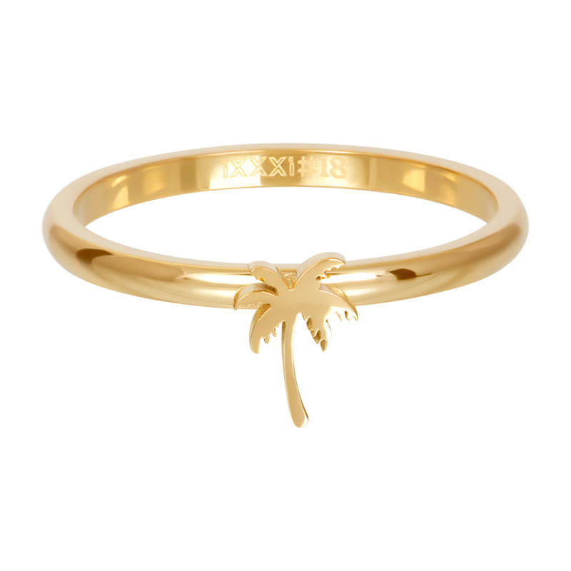 iXXXi Jewelry Symbol palm tree Goud