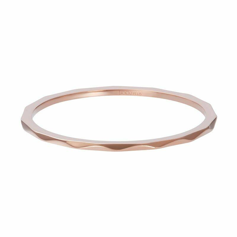 iXXXi Jewelry vulring 1mm Wave Rose