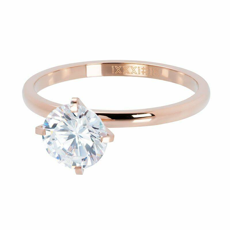iXXXi Jewelry vulring 2mm Secure Rose